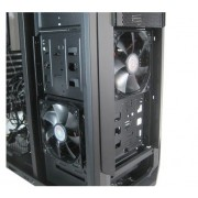 "CARCASA CM STORM Trooper, full-tower, XL-ATX, 2* 120mm red LED fan & 1* 200mm fan & 1* 140mm (inclus), I/O panel, black ""SGC-5000-KKN1"""