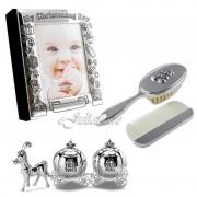 Album de botez perie pieptene bucla dintisor pentru fetita