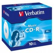 Verbatim CD-R AUDIO 16x 80Min, Jewel Case (43365)