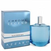 Chrome Legend For Men By Azzaro Eau De Toilette Spray 2.6 Oz