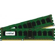 Crucial 8GB Kit (4GBx2) DDR3 PC3-12800 8GB DDR3 1600MHz Data Integrity Check (verifica integrità dati) memoria