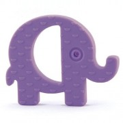 Koo-di Baby Choos Teether, Purple Elephant by Koo di