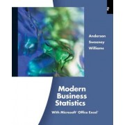 Modern Business Statistics with Microsoft Excel (with Printed Access Card) by David R Anderson