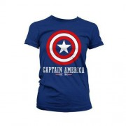 MARVEL Koszulka damska Captain America Marvel Comics