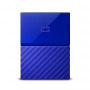 """HDD extern WD, 1TB, My Passport, 2,5"""" USB 3.0, albastru"""
