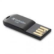 Verbatim 4 GB Micro USB Flash Drive, Black 44048
