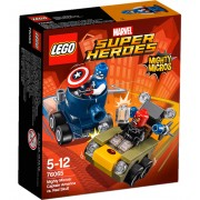 LEGO® Marvel Super Heroes Mighty Micros: Captain America contra Red Skull 76065