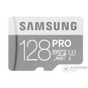 Card Samsung microSDXC 128GB Pro Class10, UHS-I Grade1 + adaptor SD