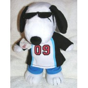 "Hallmark Peanuts Joe Cool 2009 Graduate 10"" Snoopy Plush Graduation Doll"