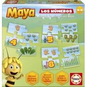La Abeja Maya - Los números, juego educativo (Educa Borrás 15669)