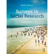 Surveys in Social Research by David de Vaus