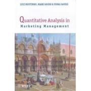 Quantitative Analysis in Marketing Management by Luiz Moutinho
