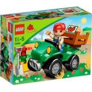 LEGO Duplo - granja quad - 5645 verde placa base Duplo