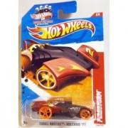 2011 Hot Wheels Black Red Firestorm #200/244 Thrill Racers Volcano 11 #2/6