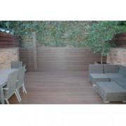 TARIMA SINTETICA OTIUMDECK Naturale color Ipè de 2200x138x22 mm (m2) PARA EXTERIOR