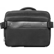 Macaroni Sagero 15.6 inch Hard Case Messenger Notebook Bag-Black