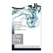 Jacquard iDye Fabric Dye 14 Grams-Gun Metal For Polyester, Nylon and all 100% Natural Fabrics