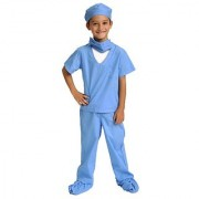 Aeromax Jr. Doctor Scrubs available in Blue or Pink