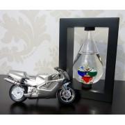 Ceas motocicleta termometru Galileo
