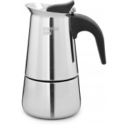 Cafe Coffee Day Stovetop 2 cups Coffee Maker(Steel)