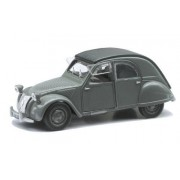 New Ray - 50893 - Véhicule Miniature - Voiture - Citroën 2 Cv 1952 Die Cast Roues Libres