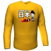 GamersWear Gaming Nation Longsleeve Yellow (XL)