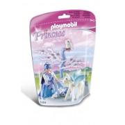 Playmobil 5354 - Bianca Principessa dei Ghiacci con Cavallo Alato
