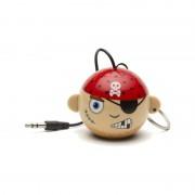 Boxa portabila KitSound Mini Buddy Pirate 2W brown