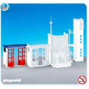 Playmobil 7465 Station Fire Extension