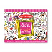 Melissa & Doug Pink Sticker Collection - 4247