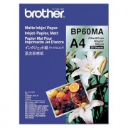 Brother BP-60MA Matte Paper A4, 25 Sheets, Size: 210 x 297mm, Weight: 145 gsm