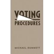 Voting Procedures by Sir Michael Dummett