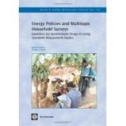 Energy Policies and Multitopic Household Surveys by Kyran O'Sullivan