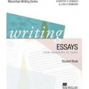 Writing Essays - Paragraph to Essay by MacMillan