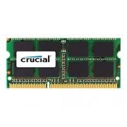 Crucial Memoria per Mac da 8 GB, DDR3, 1333 MT/s, (PC3-10600) SODIMM, 204-Pin - CT8G3S1339MCEU