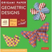 Origami Paper Geometric Prints by Tuttle Publishing