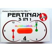 Pertinax 3 in 1, 4 db kapszula/doboz Potencianövelő férfiaknak, ÚJ termék