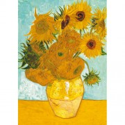 Puzzle Van Gogh - Vaza cu flori, 1000 piese, RAVENSBURGER Puzzle Adulti