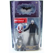 Batman Dark Knight Movie Deluxe Action Figure Gotham City Thug [Happy Mask]
