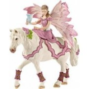 Figurina Schleich Feya In Festive Clothes Riding