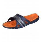 COQUI KOVY Pánské pantofle 493-342 Navy/Orange 42