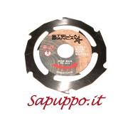 Dischi CASTOR 6 per legno e plastica