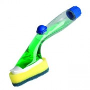Burete, cu rezervor pentru detergent, SCOTCH-BRITE Click & Clean