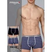 Primal 3 Boxer uomo Primal in cotone rigati con elastico loggato