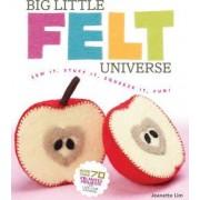 Big Little Felt Universe by Jeanette Lim