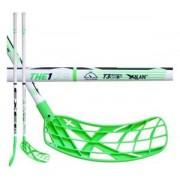 Exel Florbalová hokejka Exel The1 Green 2.6 101 Round SB `16 neonově zelená / bílá Pravá (pravá ruka níže) 101cm (=111cm)