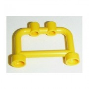 Lego Building Accessories 1 x 4 x 2 Bright Yellow Hanger Bulk - 50 Pieces per Package