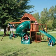 Swing-n-Slide Grandview Twist Complete Swing Set PB 8272T