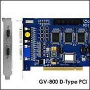GeoVision GV-800/16 :: Охранителна платка GV-800, 16 порта, 100 fps