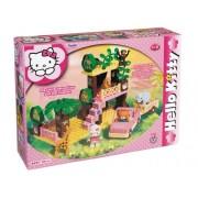 Smoby - Juego de construcción para niños Hello Kitty de 42 piezas (8655-00HK)